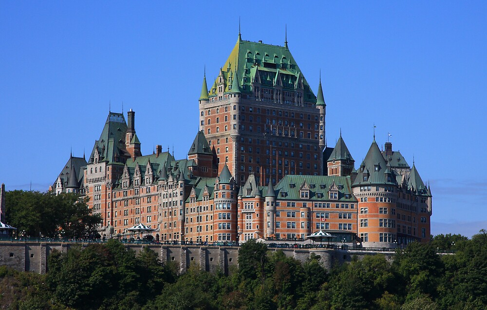 Chateau Frontenac  by Dave Law