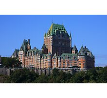 Chateau Frontenac  Photographic Print