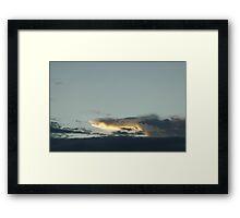 Gator in the Sky Framed Print