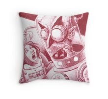 Holly's nightmare # 100435 Throw Pillow
