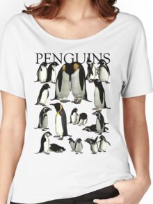 Penguins Women's Relaxed Fit T-Shirt