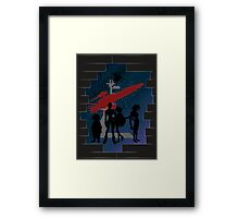 An Outlaws Life For us Framed Print