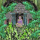 Hidden Buddha by Deborah Dillehay