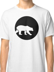Polar bear moon Classic T-Shirt