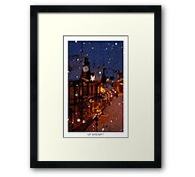 Pixel Art Cities: Dresden Framed Print