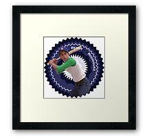 """Benny """"The Jet"""" Rodriguez Framed Print"""