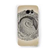 Owl ink illustration Samsung Galaxy Case/Skin