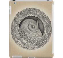 Owl ink illustration iPad Case/Skin