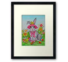 The Easter Bunny Framed Print