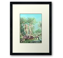 Corruption of Earthly Matter Framed Print