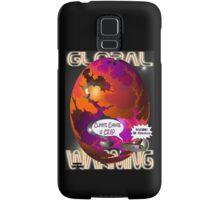 Climate Change Is Crap T-shirt Design Samsung Galaxy Case/Skin