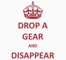 Drop a Gear and Disappear w/ Crown by bikelifema