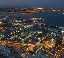 Auckland at Night by Joe Dailly