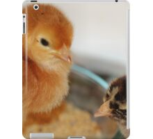 I'm queen of the dinner bowl! iPad Case/Skin