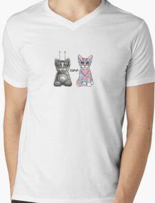 BFF Best Friends Forever Mens V-Neck T-Shirt