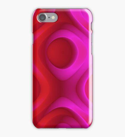 Floral Pattern, Abstract Digital Art Design. iPhone Case/Skin