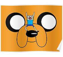 Finn & Jake Adventure Time Poster