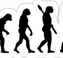 Evolution Police Sticker