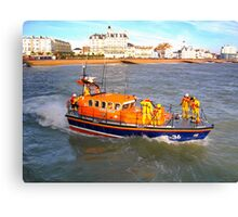 Eastbourne Lifeboat Canvas Print