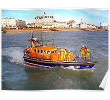 Eastbourne Lifeboat Poster