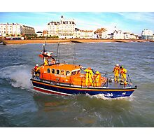 Eastbourne Lifeboat Photographic Print