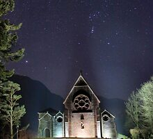 magical Night - St Finnan's Glenfinnan by Cat Perkinton