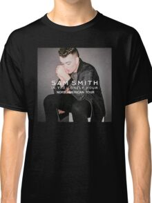 SAM SMITHIN THE LONELY HOUR NORT AMERICAN TOUR Classic T-Shirt