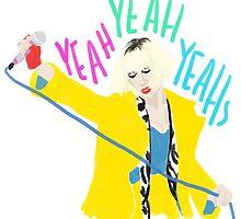 Karen O Yeah Yeah Yeahs by allolune