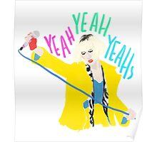 Karen O Yeah Yeah Yeahs Poster