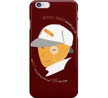 Medical Coder, Detective at Work (white/Orange) iPhone Case/Skin