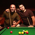 Pool players by fasteddie42