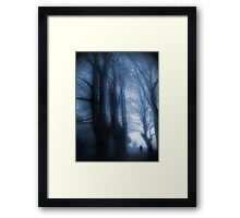 Watcher In The Woods Framed Print