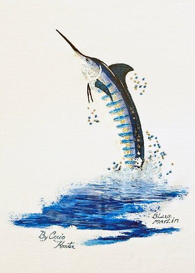Flying Billfish by bubblepacific