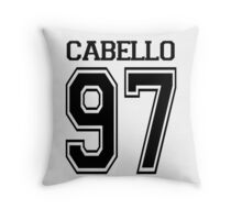 CABELLO BASEBALL TEE Throw Pillow