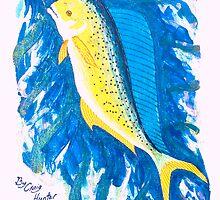 Deep Blue Dorado by bubblepacific