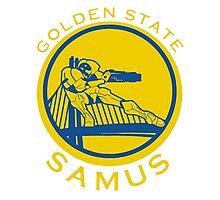 Golden State Samus  Photographic Print