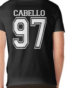 Black Cabello 97 Mens V-Neck T-Shirt