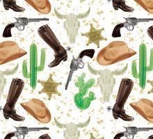 Western pattern by allolune