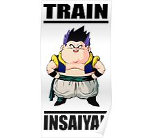 Gotenks Train Insaiyan Poster