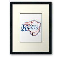 Los Angeles Kirby's  Framed Print