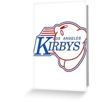 Los Angeles Kirby's  Greeting Card