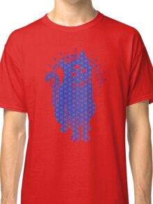 Trippy Cat: Blue Flower of life Edition Classic T-Shirt
