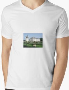 Chenonceau  Mens V-Neck T-Shirt