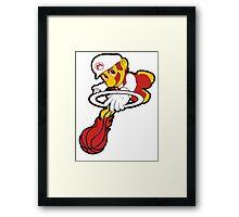 Mario Heat  Framed Print