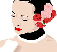 Girl roses by coledes