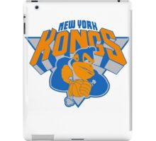 New York Donkey Kongs iPad Case/Skin