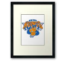 New York Donkey Kongs Framed Print