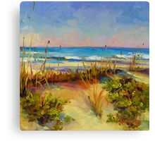 Turquoise Tide by Chris Brandley Canvas Print