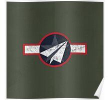 Paper Airplane 125 Poster