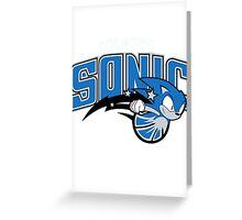Orlando Sonic Greeting Card